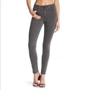 NYDJ 6 Alina Denim Legging in Charcoal